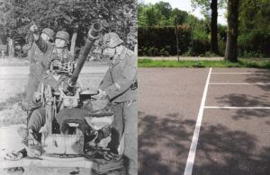 THEN & NOW: Battle of Arnhem. 2 cm Flak 30 at Oosterbeek
