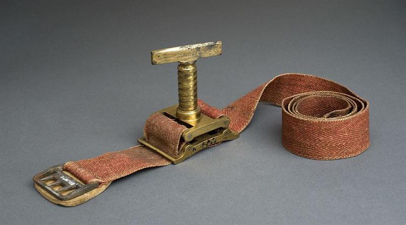 Petit-type tourniquet, London, England, 1823-1829.
