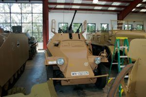 The Sdkfz 222 in a private collection (Credits: Sean O'Flaherty)