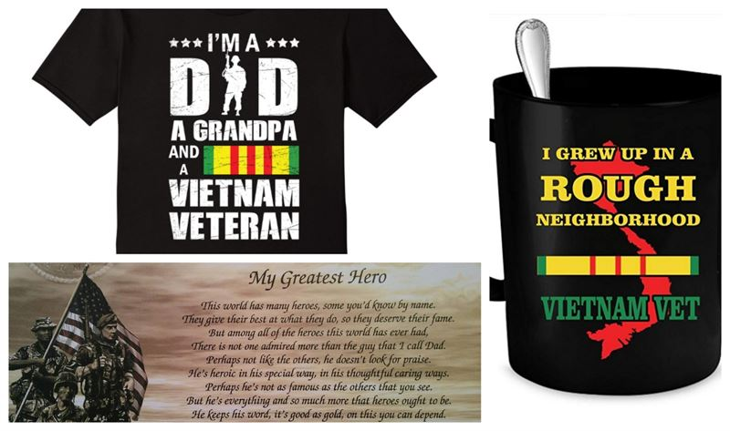 Gifts you can give to Vietnam War Veterans