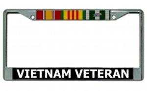 Vietnam Veteran License Plate Holder