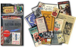 Children War Memorabilia Packages Teach
