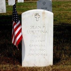 Sean Luketina's Grave