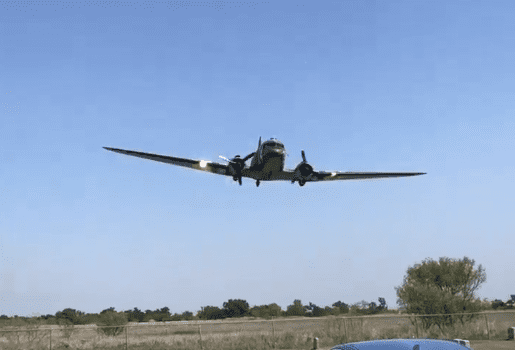 C-47 Flypast Karl Peters