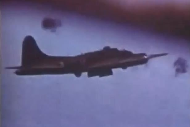 Color Footage B17 Memphis Belle
