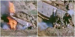 Death of a Tank - Okinawa