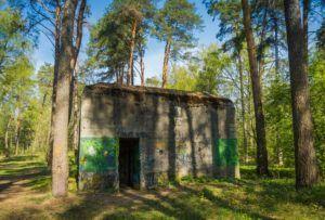 """Hitler's headquarters, """"Bärenhöhle,"""""""