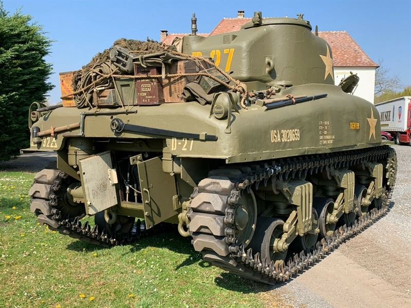 Authentic Sherman Tank from 1943 for sale on ebaY!