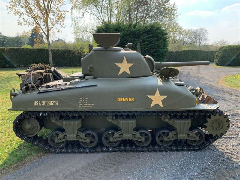Armored Car For Sale >> Authentic Sherman Tank from 1943 for sale on ebaY ...