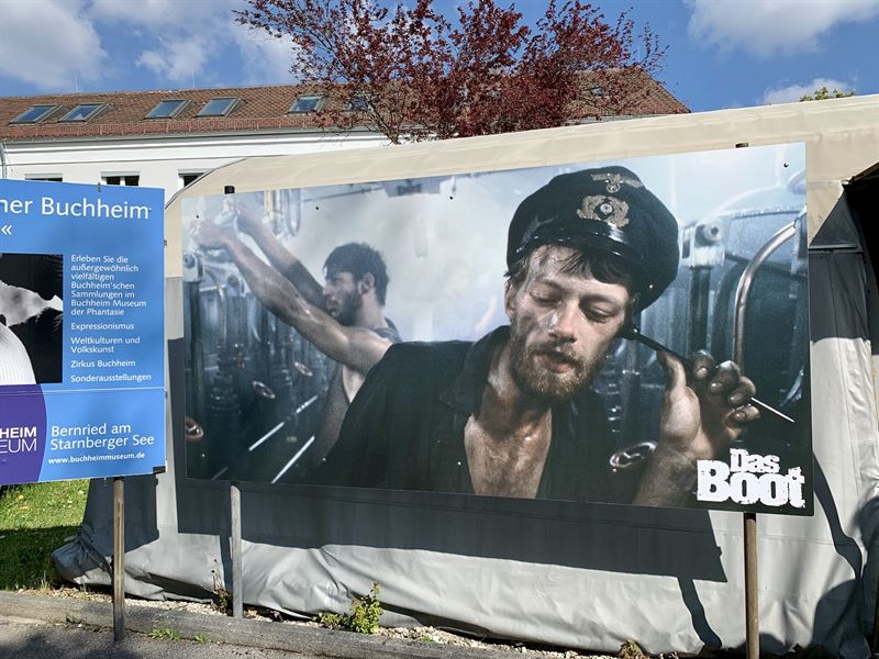 A Visit to the Das Boot (1981) set in Bavaria Film Studios