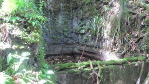 General Sadae's spacious outdoor bath on Koror