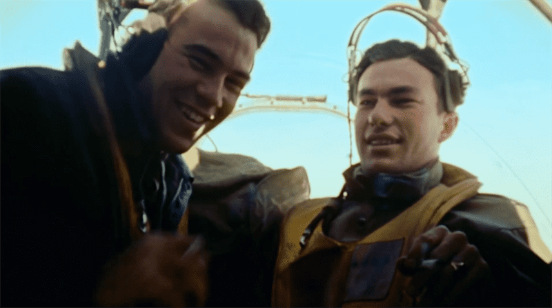 TRAILER: The Cold Blue - Unseen Raw Color B-17 Combat Footage!