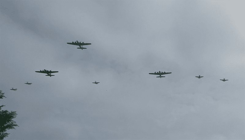 World War 2 Aircraft Fly Overs