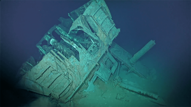 USS JOHNSTON WRECK