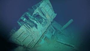 USS JOHNSTON WRECK