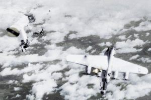 Ford B-24M 44-50838 blown in half by an Me 262, 4 April 1945