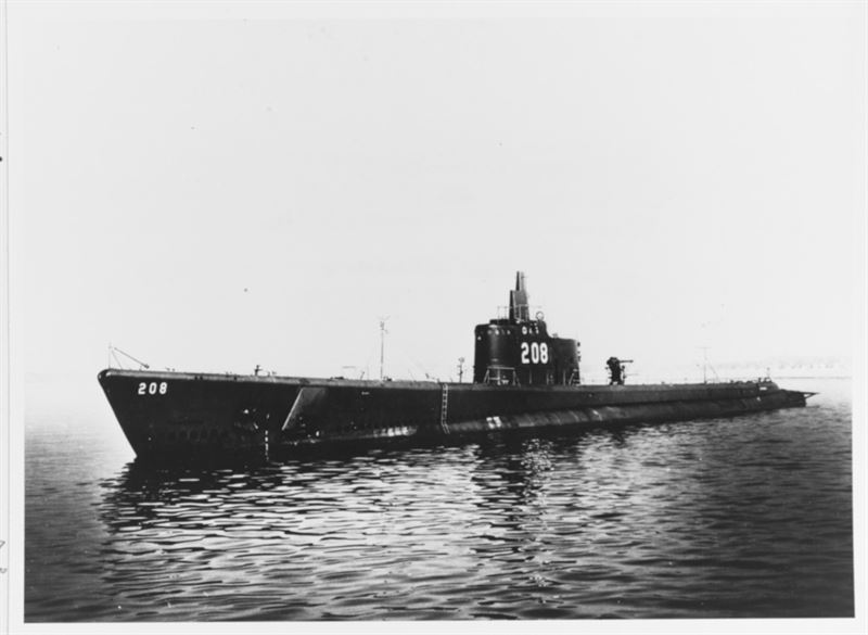 US submarine found after 75 years