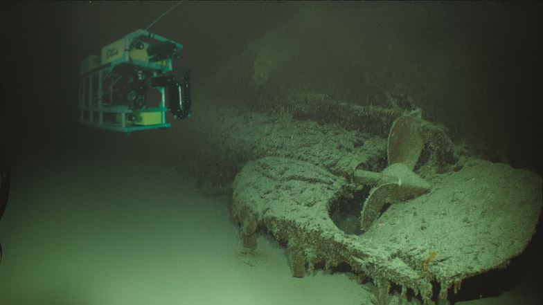 U.S. Sub Missing for 75 Years Found Near Okinawa