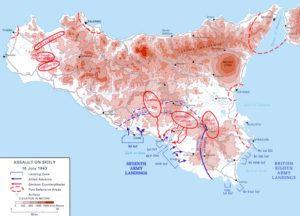 operation husky map