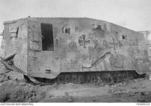German A7V Military Tank