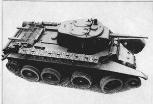 WWII Tank Soviet Union BT7